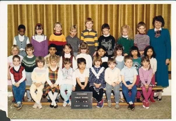 Nick Brown class photo